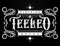 Teeleo Clothing Typography Design