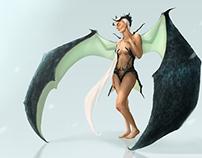Umay - Türk Mitolojisi karakter tasarımı