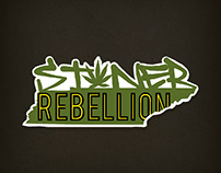 Stoner Rebellion | Combination Mark Logo