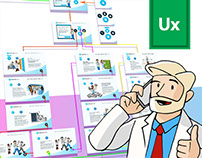 Healthcare analitics software | landing page UX