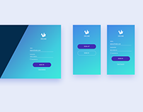 DailyUI Day 1 - Sign up