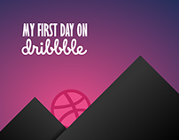 My First Day on Dribbble