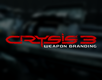 CRYSIS 3 - WEAPON BRANDING