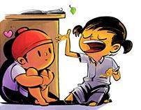 Illustration Series -Childhood Diaries