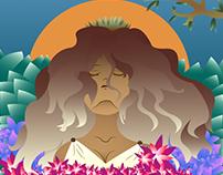 Princesas e sereias: Milena, oráculo de delfos