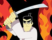 Samurai Jack - Aku Looms
