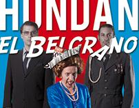 Hunda en Belgrano - Teatro / Poster y Arte