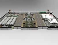 Military Base Camp- 3d game asset modeling