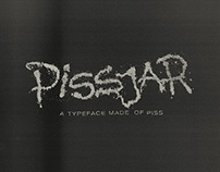 Pissjar Sans — A typeface made of piss