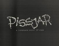 Pissjar Sans — A typeface made of piss