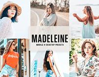 Free Madeleine Mobile & Desktop Lightroom Presets