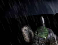 Miyazaki Character Photo Manipulation