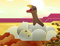 [Ilustração] A saga dos dinossauros brasileiros