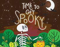Halloween Illustrations October 2017