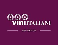 Vini Italiani: App Design