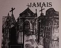 Página de fanzine Lygia Ilustrada - ilustração grafite