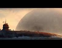 Keyframe concept art.Ancient civilization: Lost & found