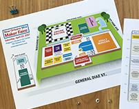 New Orleans Mini Maker Faire venue map and schedule
