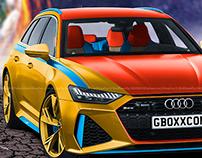 2020 Audi RS6 Avant Jean Grey Edition