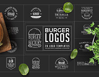 Burger Logo Templates
