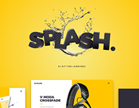 Splash UI Kit for Sketch