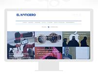 El Noticiero Website Design