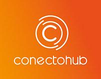 Conectohub Logo and App Icon Design