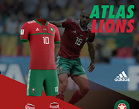 Morocco soccer uniform design