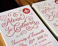 Alena Colborn - Graduation Invitation