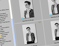 Workflow for business photography