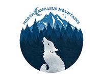 North Caucasus Mountains