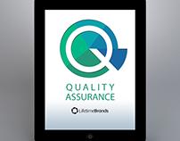 Quality Management Logo for Lifetime Brands App