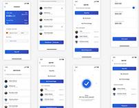 Split Payment concept App design