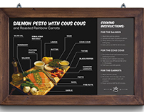 Salmon Pesto Recipe Infographic