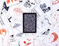 Technéquia. Baraja de cartas