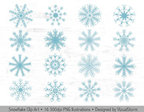 Snowflakes Illustrations