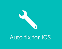Auto fix for ios