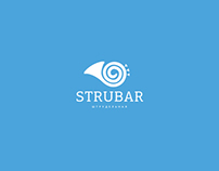 Branding for the café «STRUBAR»