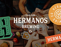 Hermanos Brewing Co. Branding