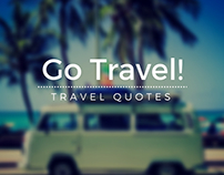 Go Travel! Inspiring Quotes