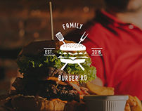 Family burger RD | logo design