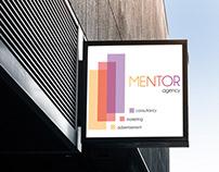 MENTOR Brand Identity, Logo Design & Poster