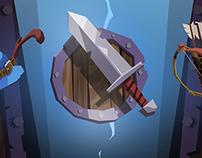 Heroes Curse, UI