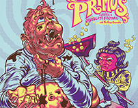 Primus 2015 Gig Poster