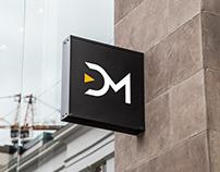 ĐM logo design