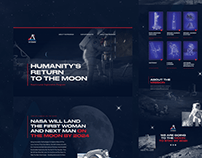 Nasa Artemis Website Redesign