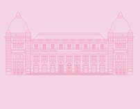 Bucharest's museums. Illustration
