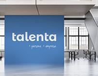 Talenta | Auditoría de marca y logotipo