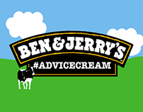 Ben & Jerry's #AdviceCream