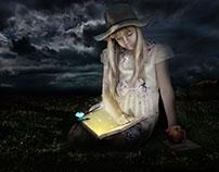 A magic book